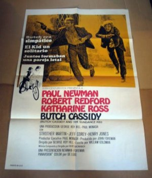 HL03 Butch Cassidy & Sundance Kid One Sheet Poster