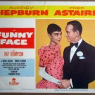 HO10 Funny Face FRED ASTAIRE/AUDREY HEPBURN Lobby Card
