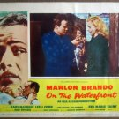 HO21 On The Waterfront MARLON BRANDO Lobby Card