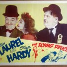 HP10 Flying Deuces LAUREL & HARDY 1940sR Lobby Card