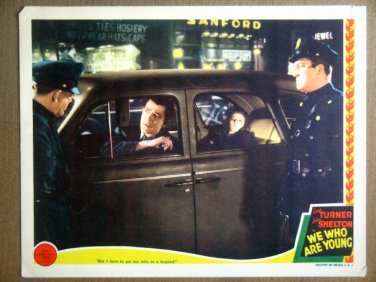 HQ28 We Who Are Young LANA TURNER 1940 Lobby Card
