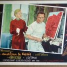HR02 American In Paris GENE KELLY/NINA FOCH Lobby Card