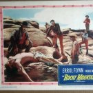 HR17 Rocky Mountain ERROL FLYNN Lobby Card