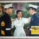 HR23 Shores Of Tripoli MAUREEN OHARA/SCOTT Lobby Card