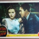 HS03 Come Live With Me JAMES STEWART/LAMARR Lobby Card