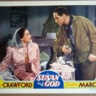 HS25 Susan & God JOAN CRAWFORD/FREDRIC MARCH Lobby Card