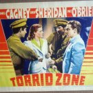 HT24 Torrid Zone JAMES CAGNEY/ANN SHERIDAN Lobby Card