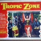 HT25 Tropic Zone ESTELITA/RONALD REAGAN Lobby Card