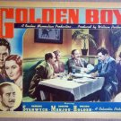 HU19 Golden Boy BARBARA STANWYCK/WM HOLDEN Lobby Card