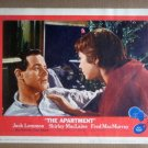 HV09 Apartment JACK LEMMON/SHIRLEY MacLAINE Portrait Lobby Card