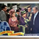 HV17 Lady From Louisiana JOHN WAYNE/ONA MUNSON 1941 Original Lobby Card