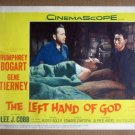 HV18 Left Hand Of God HUMPHREY BOGART 1955 Original Lobby Card