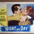HV20 Night & Day CARY GRANT/ALEXIS SMITH Original 1946 Portrait Lobby Card