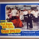 HW11 Daddy Long Legs FRED ASTAIRE/LESLIE CARON 1955 Lobby Card