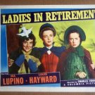 HW17 Ladies In Retirement IDA LUPINO/ELSA LANCASTER 1941 Lobby Card