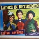 HW17 Ladies In Retirement IDA LUPINO/ELSA LANCASTER 1941 Lobby Card