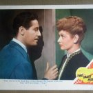 HW25 Two Smart People LUCILLE BALL/JOHN  HODIAK 1945 Portrait Lobby Card