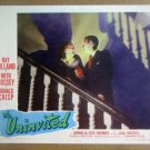 HY23 The Uninvited RAY MILLAND/CORNELIA OTIS SKINNER Lobby Card