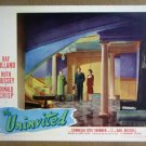 HY24 The Uninvited RAY MILLAND/CORNELIA OTIS SKINNER Lobby Card
