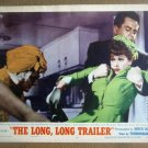 HZ09 Long, Long Trailer LUCILLE BALL & DESI ARNAZ Lobby Card