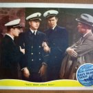 IA14 Navy, Blue And Gold JAMES STEWART/ROBERT YOUNG 1937 Lobby Card