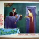 IA20 Uninvited RAY MILLAND/GAIL RUSSELL/RUTH HUSSEY 1944  Lobby Card