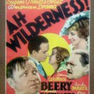 IB01 Ah Wilderness WALLACE BEERY/LIONEL BARRYMORE Midget Window Card