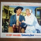 IB07 Calamity Jane DORIS DAY Original Lobby Card