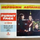 IB10 Funny Face AUDREY HEPBURN/FRED ASTAIRE Original Lobby Card