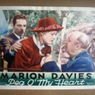 IB16 Peg O My Heart MARION DAVIES Original 1933 Lobby Card