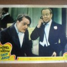 IB22 Ship Ahoy RED SKELTON/BERT LAHR Original 1942 Lobby Card