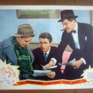ID10 Ice Follies Of 1939 JAMES STEWART/LEW AYRES Original 1939 Lobby Card