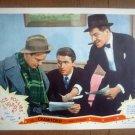 ID10 Ice Follies Of 1939 JAMES STEWART/LEW AYRES Original 1939 Lobby Card