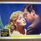 ID15 Marriage Is A Private Affair LANA TURNER/JOHN HODIAK Portrait Lobby Card