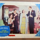 XY01 OVER THE MOON  Merle Oberon original 1939 lobby card