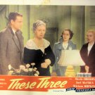 XY109 THESE THREE 1944R Merle Oberon/Miriam Hopkins/Joel McCrea  lobby card