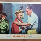 XY17 SEVENTH SIN  Eleanor Parker  original 1950 lobby card