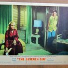 XY18 SEVENTH SIN  Eleanor Parker  original 1950 lobby card