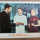 XY19 SEVENTH SIN  Eleanor Parker  original 1950 lobby card