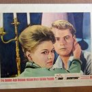 XY20 ROME ADVENTURE Troy Donohue / Angie Dickinson original 1962 lobby card