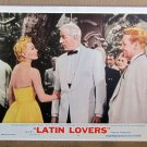 XY34 LATIN LOVERS   Lana Turner  original 1953 lobby card