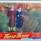 XY48 THESE THREE Merle Oberon re-release 1944 lobby card