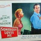 XY53 SOMEBODY LOVES ME Betty Hutton original 1952 lobby card