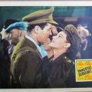 XY69  IMMORTAL SERGEANT  Henry Fonda & Maureen O'Hara  original 1943  lobby card