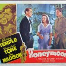 XY71  HONEYMOON  Shirley Temple / Franchot Tone   original 1947  lobby card