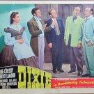 XY72  DIXIE  Bing Crosby / Dorothy Lamouroriginal 1943  lobby card