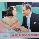 XY75 BIG PARADE OF COMEDY Greta Garbo Ninotchka sequence orig 1964 lobby card
