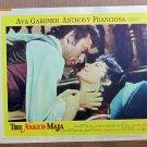 XY76 NAKED MAJA  Ava Gardner  original  1959 lobby card