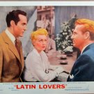 XY83 LATIN LOVERS  Lana Turner  original  1953  lobby card