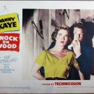 XY85 KNOCK ON WOOD  Danny Kaye   original  1954  lobby card